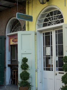 """The French Quarter offers an abundance of quaint little bookshops. Faulkner House Books, which specializes in fine literature and rare editions, has been called by some """"America's most charming book store""""."""