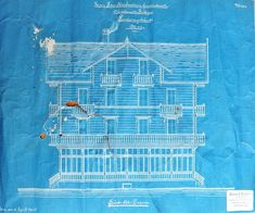 Why blueprints are blue i didnt know that fun facts pinterest architectural drawing 1902 blueprint malvernweather Images
