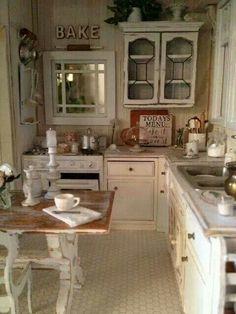 cool 80 Elegant White Shabby Chic Kitchen Wall Shelves https://homedecort.com/2017/04/elegant-white-shabby-chic-kitchen-wall-shelves/