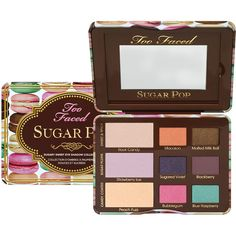 Sugar Pop ($18) ❤ liked on Polyvore featuring beauty products, makeup, eye makeup, eyeshadow and palette eyeshadow
