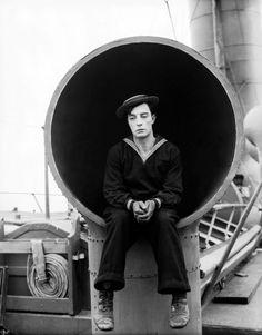 Buster Keaton in The navigator, 1924