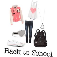 """""""Back to School"""" by kamila-2013-12 on Polyvore"""