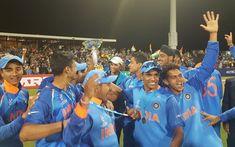 Team India U-19 World Cup victory's eye-catching celebration - NewsDog