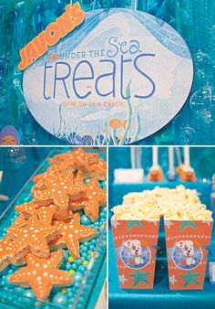 Bubble Guppies under the sea treats