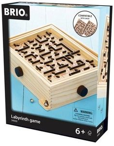 Brio Labyrinth Game * 6 years and up * Introduce this classic maze to today's kids! Maze Game, Game 4, Labyrinth Game, Marble Maze, Games Images, Gift Finder, Brio, Classic Toys, Retro Design