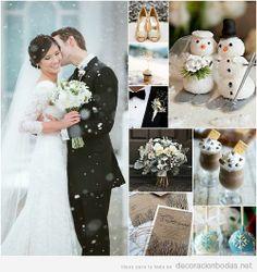 Ideas para decorar una boda en invierno