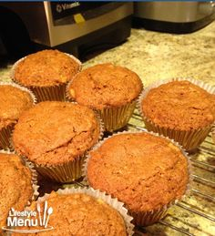 Banana Coconut Oil Muffins With Just a Hint of Ginger