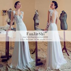 Find More Wedding Dresses Information about High Quality Bridal Gown Floor Length Cap Sleeve Scoop Neckline Appliques Backless Mermaid 2015 New Elegant Wedding Dresses,High Quality wedding dress black lace,China dress patterns for weddings Suppliers, Cheap wedding dresses middle east from Suzhou FanJieShi Wedding Dress Co., Ltd. on Aliexpress.com