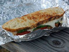 Fire Grilled Camp Sandwich perfect for going camping!