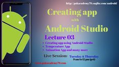 Android Lecture 03 | how to create app in Android Studio | 2019 Android Studio, Color Generator, Apps, Made Video, Videos, Knowledge, Create, My Love, App