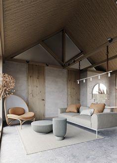 Contemporary Interior Design, Modern Interior Design, Modern Decor, Interior Architecture, Scandinavian Design Furniture, Luxury Interior, Modern Rustic, Workshop Architecture, Interior Logo