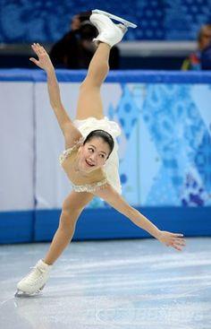 フィギュア女子シングルで8位の鈴木明子、ソチ五輪