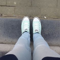 by Clothes & Dreams. Instadiary #1: Converse All Star Chuck Taylor Beach Glass