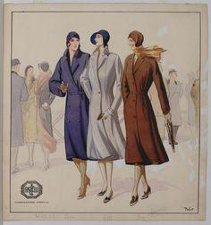 Giorgio Tabet, advertisement for Pirelli raincoats, 1929 http://www.fondazionepirelli.org
