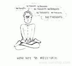 Do We Have To Make Meditation Entertaining? - Providence Life Coaching and Spiritual Training - meditation funny no thoughts