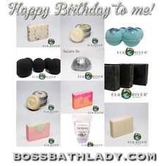 My birthday order thanks to my commission from the last two weeks(just had to pay for shipping!)🖤 so excited to get all of this next week!!  • 2 Lavender soaps •2 Energy soaps •Charcoal & Tea Tree Soap •Cucumber Melon Soap •Eucalyptus, Rosemary, & Peppermint soap  •Black Magic bath bomb •Mountain Rain bath bomb •I Put a Spell on You bath fizzy •Energy lotion bar •Oh Honey, Honey lotion Bar •Relieve Me Shower Steamer