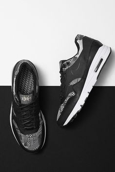 Designed to honor athletes. Celebrate the leaders and athletes who have impacted sport with the new Nike Air Max 1 Ultra Moire Black History Month shoe.