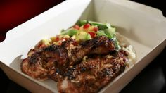 Jamaican Jerk Chicken with Coconut Rice - My Kitchen Rule