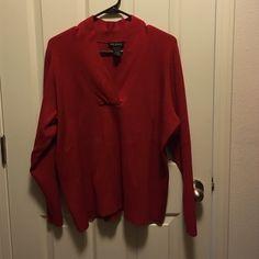 Lane Bryant Knit Top Long sleeve LB knit top. Lane Bryant Sweaters V-Necks