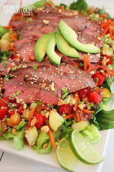 The Comfort of Cooking » Spicy Thai Steak Salad @Georgia Johnson