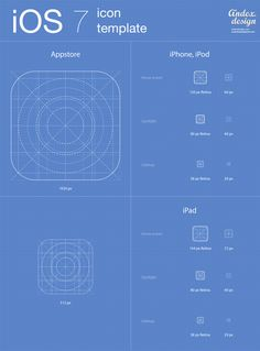 iOS 7 icons template FOR FREE Downloading. An archive file contain PSD AI files with full editable vector shapes. You can use it for your own projects absolutely free. http://www.andexdesign.com/ios-7-app-icons-template/ For awesome apps : http://goo.gl/yyghK1 #ios #apps #games