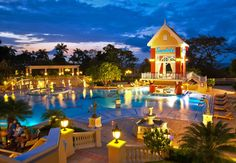 The new Sandals Ochi Beach Resort in Jamaica is a true Garden of Eden