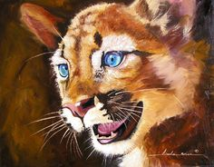 """The Face of Wonder"" oil painting by Linda Rous, artist"