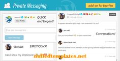 Private Messages for UserPro V 3.5 - http://nulledtemplates.net/scripts/private-messages-for-userpro-v-3-5.html Private Messages for UserPro V 3.5    Version  V 3.5   Author  DeluxeThemes   Distributor / Market codecanyon,evato   High Resolution  No   Widget Ready    Compatible Browsers  IE9, IE10, IE11, Firefox, Safari, Opera, Chrome   Compatible With    Software Version  WordPress 4.1, WordPress 4.0, WordPress 3.9, WordPress 3.8, WordPress 3.7   Columns    Layout  Res