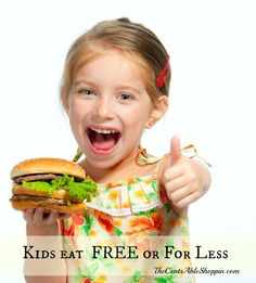 Kids Eat #FREE #Discounts