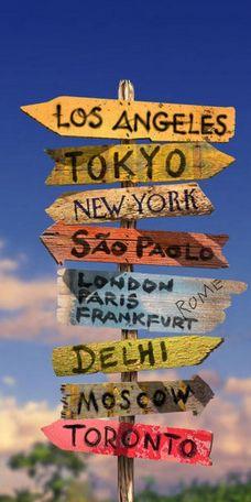 Toronto = home <3 / London, Paris, Frankfurt = adopted homes.