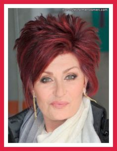 sharon osbourne hairstyle | Sharon Osbourne Hairstyles