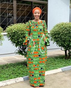Ankara gowns can make you look good. Here are some lovely ankara gowns that can make you look good for your occasions. African Maxi Dresses, African Fashion Ankara, Ankara Gowns, Latest African Fashion Dresses, African Print Fashion, African Attire, Ankara Dress, African Wear, African Blouses