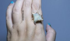 Manta ray ring, stingray ring, handmade gift, polymer clay, valentine's gift, gold ring, animal ring, scuba diver gift, for her, ocean lover