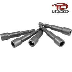 Tooluxe Magnetic Nut Driver Nutsetter  14 x 2916inch 5 Pieces Model -- You can get additional details at the image link.