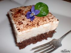 Vanilla Cake, Tiramisu, Yummy Food, Delicious Meals, Pudding, Baking, Ethnic Recipes, Delicious Food, Custard Pudding