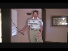 Golf Swing Tubing Trainer - At Home Golf Training. Use it daily to improve your golf specific strength and flexibility for longer drives.