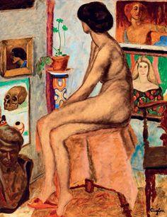Sassy, Attila (Aiglon),(1880-1967) -  Nude, in the Atelier