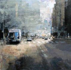 Znalezione obrazy dla zapytania art ricardo galan urrejola Urban Art, Street, Modern, Artwork, Photography, Outdoor, Image, Cityscapes, Paintings
