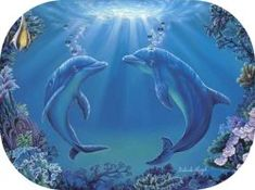 """Dance of the Dolphins"" by Belinda Leigh Category:  Dolphins"