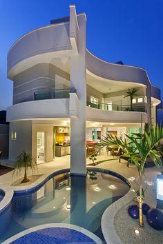 Projetos Residencias | Casa Orquídea | Arquiteto Aquiles Nícolas Kílaris