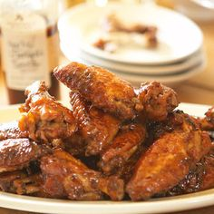 Citrus Teriyaki Chicken Wings are made with Stonewall Kitchen's Citrus Teriyaki Sauce. Yummy Chicken Recipes, Turkey Recipes, Delicious Recipes, Teriyaki Chicken Wings, Teriyaki Sauce, Pollo Recipe, Spinach Stuffed Chicken, White Meat, Yummy Appetizers