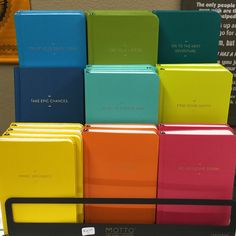 Colorful journals