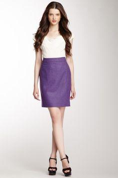 Teagan Lambswool Pencil Skirt on HauteLook