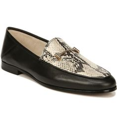Sam Edelman Loraine Snakeskin-embossed Leather Loafers In Black Loafers For Women, Loafers Men, Nordstrom Shoes, Sock Shoes, Leather Loafers, Fashion Shoes, Oxford Shoes, Dress Shoes, Black Leather