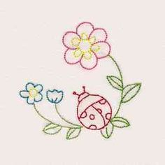 """This free embroidery design is called, """"Fantastic Garden Colorline"""". Download it today."""