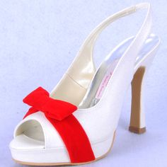 "Style No.B151006,Dyeable Two tone Heel strap,Glitter,Velvet Bowknot Fabulous 4"" Bowknot Peep-toe Sandals - Ivory Party shoes,"
