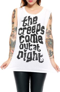 Social Decay The Creeper Muscle T-shirt