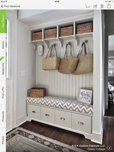 ma maison au naturel organiser son hall d 39 entr e hall entr e pinterest fils et entr es. Black Bedroom Furniture Sets. Home Design Ideas