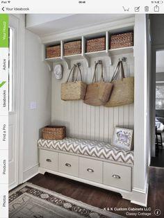 ma maison au naturel organiser son hall d 39 entr e hall entr e pinterest fils et entr es. Black Bedroom Furniture Sets. Home Design Ideas