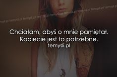 TeMysli.pl - Inspirujące myśli, cytaty, demotywatory, teksty, ekartki, sentencje Horoscopes, Couple Goals, Sentences, Everything, Thoughts, Memes, Quotes, Frases, Quotations